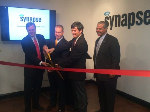 Synapse Wireless Ribbon Cutting